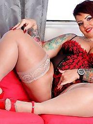 Bbw stockings, Bbw stocking, Bbw, Tattoo, Ups, Stockings bbw