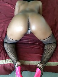 Panty ass, Black stocking, Ebony panties, Pantie