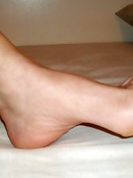 Mature feet, Stocking feet, Feet
