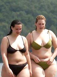 Bikini, Beach, Curvy, Thick, Bbw beach, Bbw bikini