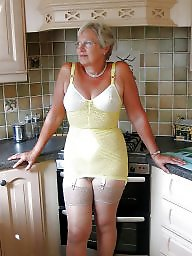 Grandma, Stockings, Body, Mature stockings, Mature porn
