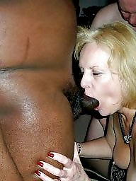 Sucking, Dick, White, Suck, Bitch, Interracial blowjob