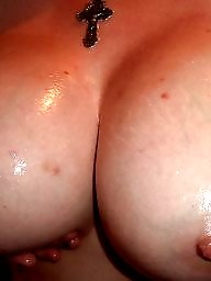 Sperm, Nipple, Oiled, Oil