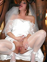 Upskirt, Bride, Upskirts, Panty ass, Brides, White panties