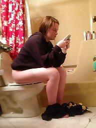 Toilet, Ladies, Hidden cam