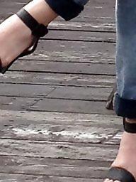 Foot, Fetish, Toes, Sandals, Foot fetish, Hidden cam