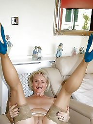 Granny, Stockings, Nylons, Granny stockings, Legs, Mature stocking