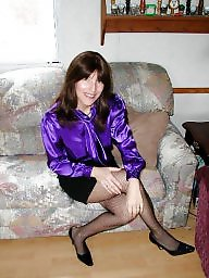Blouse, Bbw milf, Purple