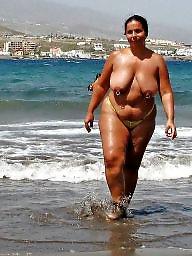 Beach, Bbw beach, Big