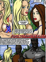 Sex cartoons, Interracial cartoons, Girl