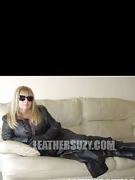 Leather, Mature leather, Mature porn, Porn mature, Milf leather