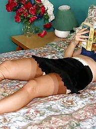 Nylon, Vintage, Retro, Upskirt stockings