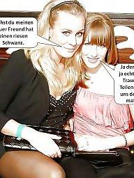 Captions, German captions, German, Caption, German caption, German amateur