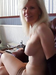 Stocking, Mature stocking, Mature boobs