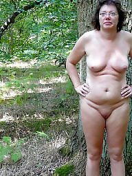 Wood, Nude, Woods, The public, Public mature