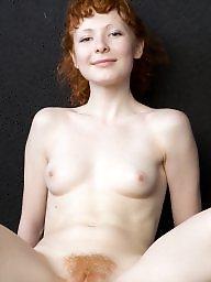 Redhead, Hairy pussy, Small, Hairy redheads, Hairy redhead