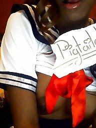 Teen, Black teen, Ebony teen, Ebony teens, Pigtails, Black teens