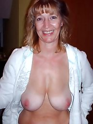 Saggy, Saggy tits, Mature amateur, Hanging, Hanging tits, Saggy mature