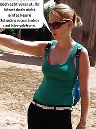 German, German caption, Funny, Captions, Milf caption, German captions