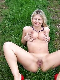 Outdoor, Mature outdoor, Outdoor mature, Blonde mature, Mature panties, Mature blonde