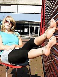 Amateur feet, Blonde porn