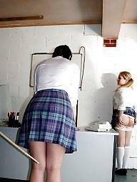 White panties, Panties, Upskirts, Upskirt panty, Panties down