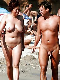 Nudist, Public, Hanging, Couple, Nudists