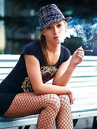 Smoking, Fetish, Smoke, High heels, Smoking fetish