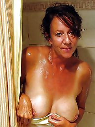 Wife, Bathroom, Mature wife