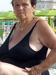 Bbw granny, Mature face, Granny bbw, Cleavage, Big granny, Granny boobs