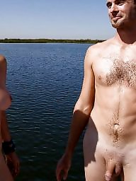 Candid, Nude beach