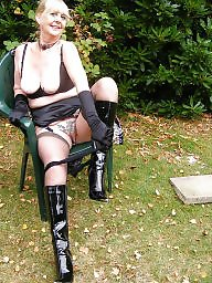 Pvc, Granny stockings, Hot granny, Mature bdsm, Granny bdsm, Outdoors