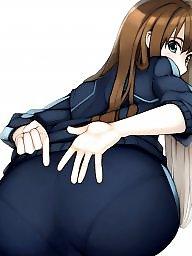 Cartoon, Panties, Toes, Panty ass, Camel