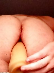 Dildo, Hairy ass, Hairy, Amateur hairy, Toys, Toy