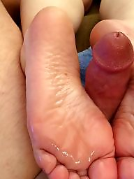 Footjob, Candy, Cute