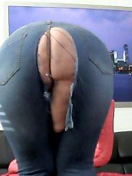Jeans, Bbw ass