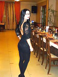 High heels, Heels, Leggings, Nylons, Dress, Dressed