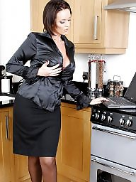 Kitchen, Upskirts, Stocking
