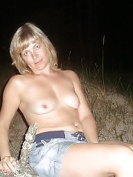 Beach, Blonde, Blond, Night