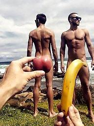 Public nudity, Outside
