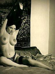 Vintage, Nipples, Big nipples