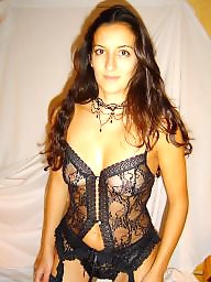 Bikini, Downblouse, Dress, Mature bikini, Underwear, Dressed