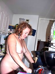 Housewife, Mature, Kitchen