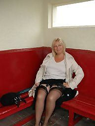 Bbw, British, Bbw stockings, Milf stockings, Bbw stocking, Blonde bbw