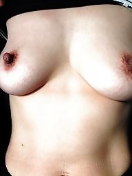 Saggy, Saggy tits, Nipple, Big nipples, Wifes tits, Saggy boobs