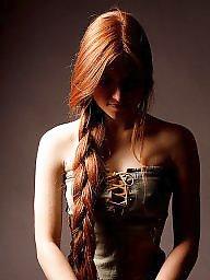 Redhead, Lady, Sexy lady