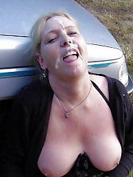 Mature anal, Mature tits