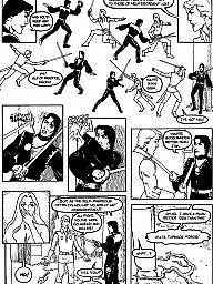 Cartoon, English, City, Bdsm cartoon, Cartoon bdsm, Bdsm cartoons