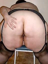 Chubby, Bbw stockings, Bbw stocking, Thighs, Chubby stockings