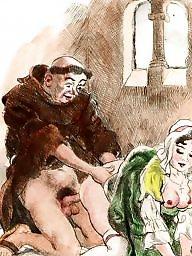 Vintage, Draw, Drawings, Vintage cartoons, Erotic, Drawing